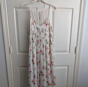 Lauren Conrad floral print maxi dress